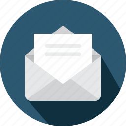 content, email, envelope, interface, message, note, open icon