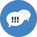 chat, communication, conversation, description, online, speech bubble icon