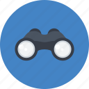 binoculars, detective, goggles, online, search, see, spy