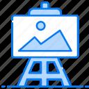 artwork, canvas, fine art, landscape, painting, picture, sketch