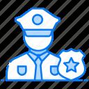 cop, officer, patrolman, police, police officer, policeman