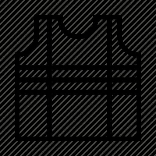 Jacket, safety, vest icon - Download on Iconfinder