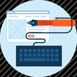 app, coding, design, development, flat design, programming, website icon