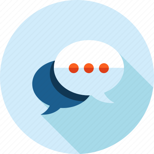 chat, communication, contact, flat design, forum, networking, testimonial icon