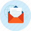 communication, email, flat design, internet, marketing, messsage, social media icon