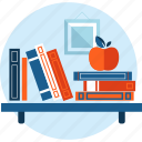 book, education, flat design, knowledge, learning, university icon