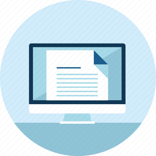 content, distance, e-learning, education, flat design, online, website icon