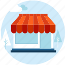 e-commerce, flat design, retail, sale, shop, shopping, store icon