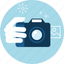 camera, flat design, gallery, image, photography, picture icon