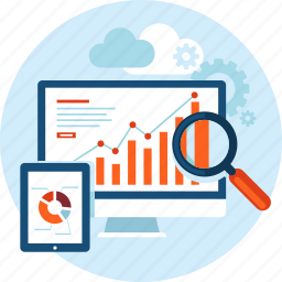 analysis, big data, business, cloud computing, market, research, seo icon