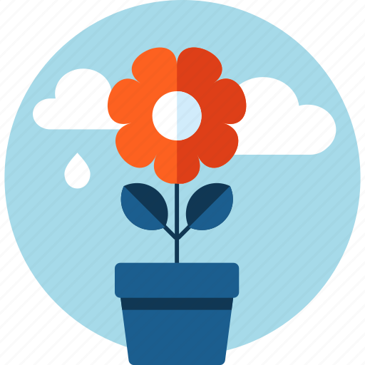 ecology, environment, flat design, flora, flower, nature icon