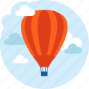 transportation, travel, discover, hot air balloon, explore icon