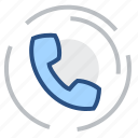 adress, chat, communication, connection, contact, handset, phone icon
