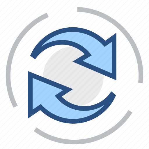 overburden, overcharge, recovery, refresh, regeneration, reload, update icon