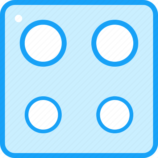 blue, moon, stove icon