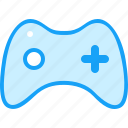 blue, game, moon icon