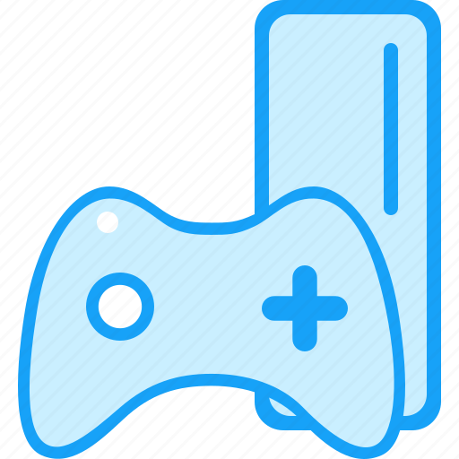 blue, games, moon icon