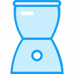 blue, juicer, moon icon