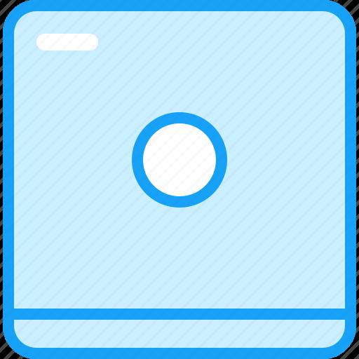 blue, dryer, moon icon