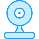 blue, fan, moon icon