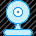 blue, fan, moon icon