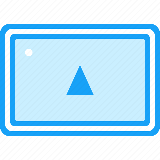 blue, moon, navigation, root, tablet icon