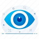 business, prediction, see, view, vision icon