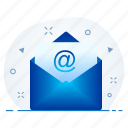 email, media, message, multimedia icon