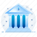 bank, banking, financial, institution, treasury icon