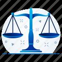 balancing, balancing wheel, equality, judge, law, wheel icon
