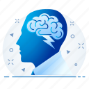 brain, human, mind, mindset icon