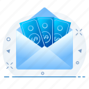 credit, currency, money, note, wallet icon