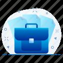 business, finance, money, portfolio icon
