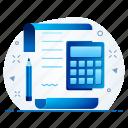 account, accounting, calc, calculator, math icon