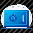 locker, money, safe icon