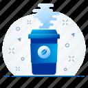 bin, cancel, delete, garbage, remove, trash icon