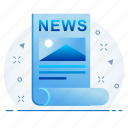 communication, media, message, news, newsletter icon