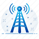 antenna, device, signal, tower, wifi icon