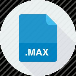 max, max scene file icon