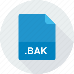 backup file, bak icon