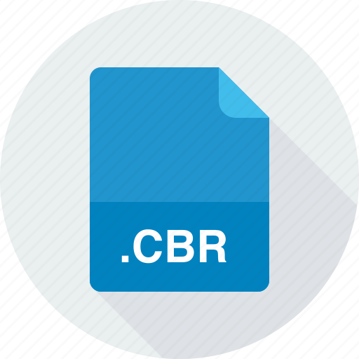 cbr, comic book rar archive icon