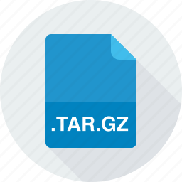 compressed tarball file, tar.gz icon