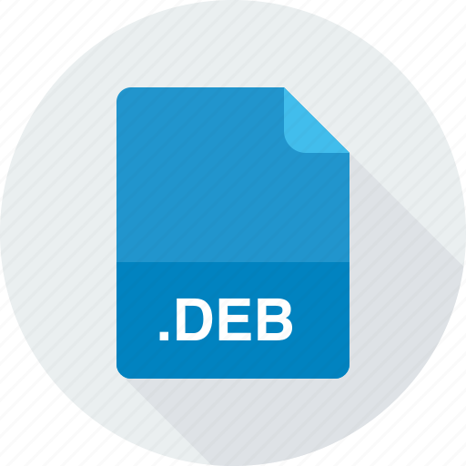 deb, debian software package icon