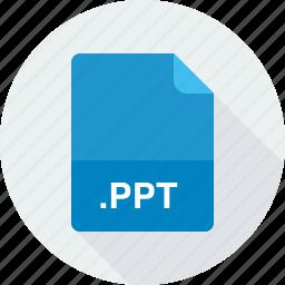 powerpoint presentation, ppt icon