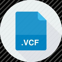 vcard file, vcf icon