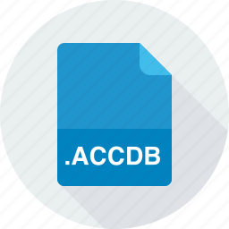 accdb, access 2007 database file, database files icon