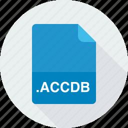 accdb, access 2007 database file, database files icon