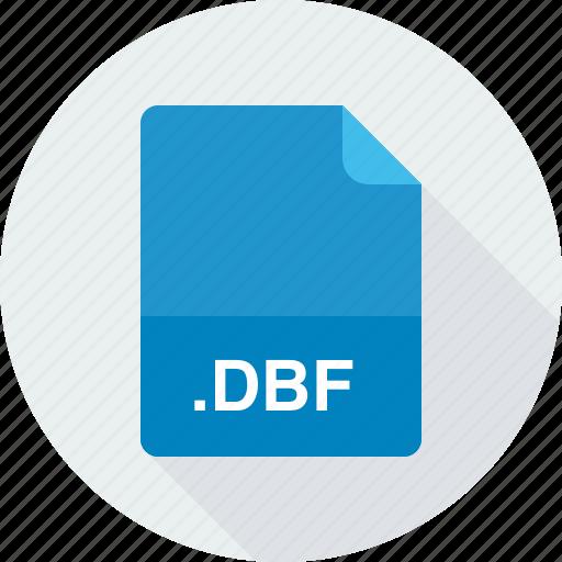 database, database file (dbf), dbf icon