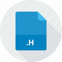 c-c++-objective-c header file, h icon