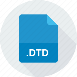 document type definition file, dtd icon